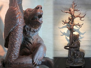 Black Forest carved  Bear Hallstand