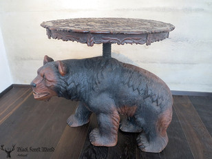 black forest bear table