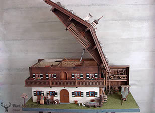 Black forest carved chalet XXL