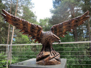 XXL black forest eagle