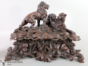 adorable detailed Lionfamily